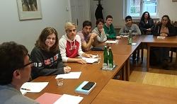 Sitzung Jugendrat 2019©Jugendrat Nienburg