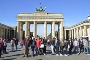 Viel los am Brandenburger Tor
