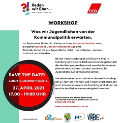 Workshop für Jugendliche©Jugendrat Nienburg